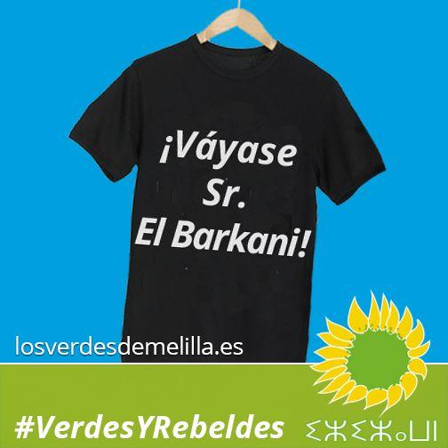¡Váyase Sr. El Barkani!