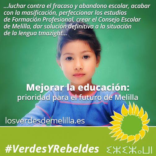 Mejorar la educación: prioridad para el futuro de Melilla