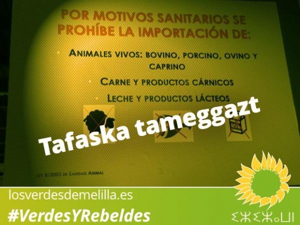 Los Verdes felicitan a los musulmanes de Melilla en el Aid El-Adha
