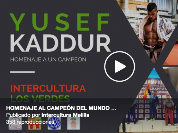 Homenaje a Yussef Kaddur en Melilla