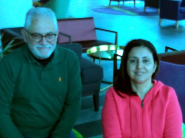 Toni Roderic y Yonaida Sel·lam